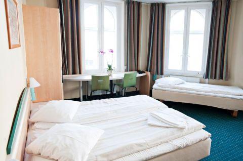 Standard 3-sengs værelse