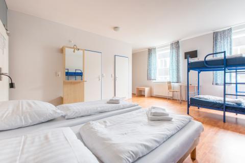 Standard 4-sengs værelse